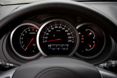 Modern car dashboard Royalty Free Stock Photo