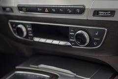Modern car dashboard. Stock Photo