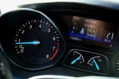 Modern car Dashboard royalty free stock image