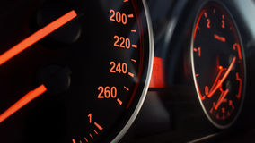 Modern Car Dashboard Royalty Free Stock Images