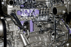 Modern car engine Royalty Free Stock Photo