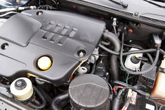 Modern car engine Stock Image
