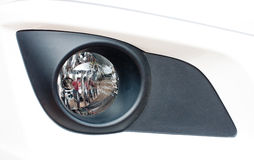 Modern car fog light Royalty Free Stock Photography