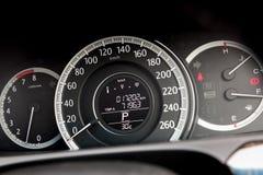 Modern car gauge stock photos