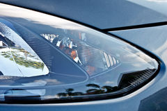 Modern car head lamp Stock Photo