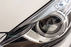 Modern car head lamp Stock Photo