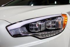 Modern Car Headlight Stock Photography