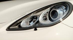 Modern car headlights Stock Photography