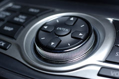Modern car interface. Stock Image