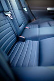Modern car interior Stock Photo