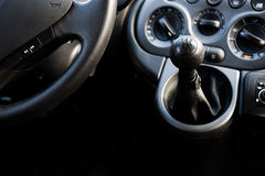 Modern car interior Stock Photography