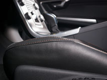Modern car interior Royalty Free Stock Images