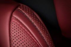 Modern car interior detail. Stock Photography