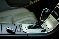 Modern car interior Royalty Free Stock Image
