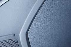 Modern car interior, macro shot, Royalty Free Stock Photography