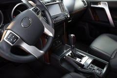 Modern car interior Stock Image