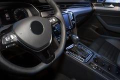 Modern car interior Royalty Free Stock Photography