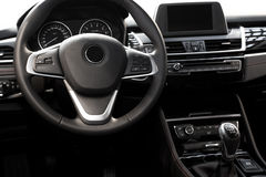 Modern car interior Stock Photography