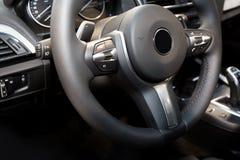 Modern car interior Royalty Free Stock Photos