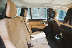 Modern car interior Royalty Free Stock Photo
