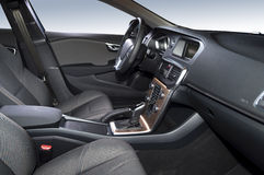 Luxury car interior Royalty Free Stock Photos