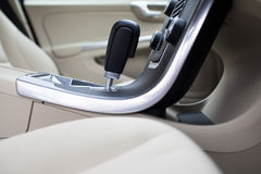 Modern car interior Royalty Free Stock Image