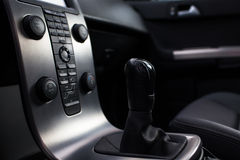 Modern car interior royalty free stock photos