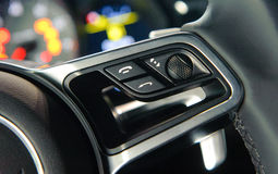 Modern car interior Royalty Free Stock Photography