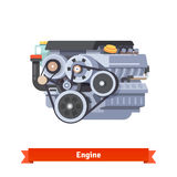 Modern car internal combustion engine Royalty Free Stock Photo
