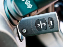 Modern car key Royalty Free Stock Images