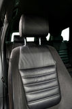 Modern car leather seat. Royalty Free Stock Photo