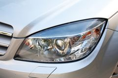 Modern car light Stock Image