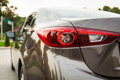 Modern car light detail Stock Images