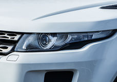 Modern Car Light Stock Photography