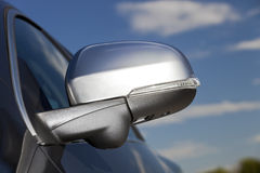 Modern car mirror Stock Photography