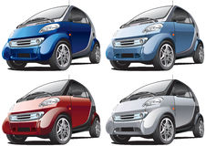 Modern Smart Car Royalty Free Stock Image