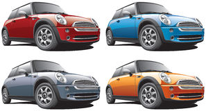 modern small car Royalty Free Stock Images