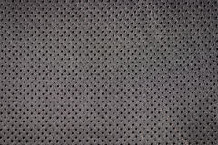 Modern car perforated leather. Stock Image