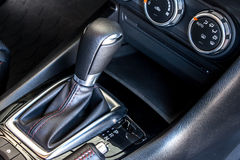 Modern car's gear shift Stock Photos