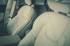 Modern Car Seats Stock Image