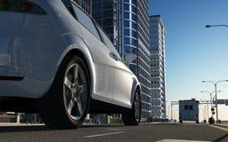 The modern car Royalty Free Stock Photos