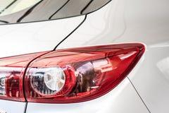 Modern car tail lamp Royalty Free Stock Photos