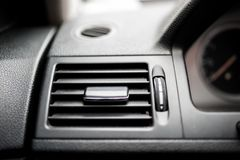 Modern car ventilation system Stock Photography