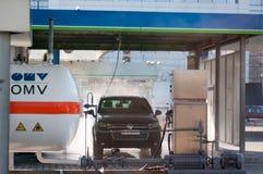 Modern car wash Stock Photography