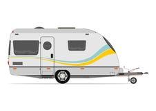 Modern caravan Royalty Free Stock Photo