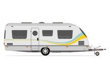 Modern caravan Stock Photography