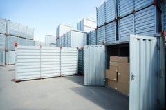 Modern cargo storage Royalty Free Stock Image