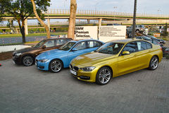 Modern cars, BMW Royalty Free Stock Image