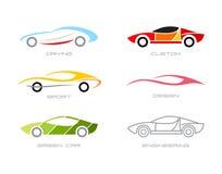 Modern Cars Royalty Free Stock Image