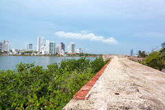 Modern Cartagena View royalty free stock images